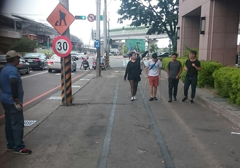 中山醫大周邊停車秩序改善,還給行人友善通行空間