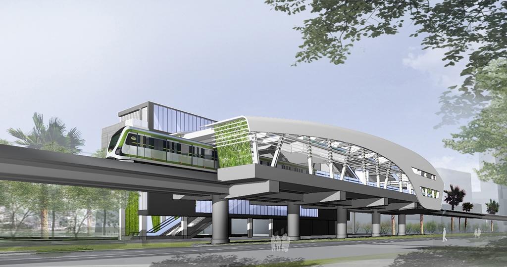 臺中市捷運車站及車輛1